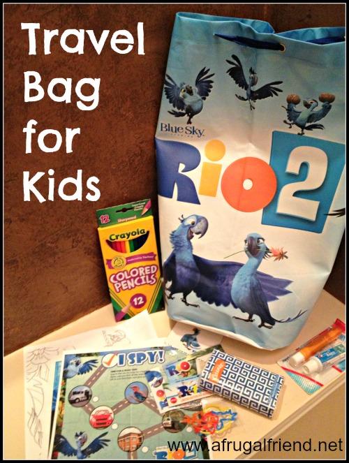 Travel Bag for Kids #Rio2Insiders #Rio2