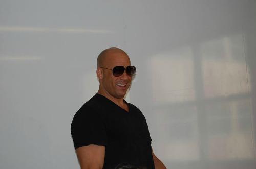 Vin Diesel Interview #GuardiansoftheGalaxyEvent