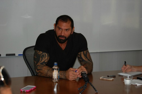 Dave Bautista Interview Guardians of the Galaxy