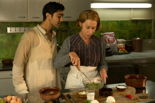 Helen Mirren cooking #TheHundredFootJourney