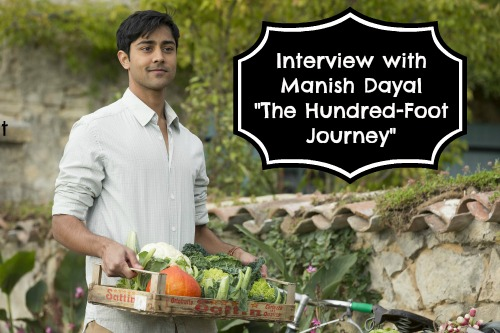 Manish Dayal Interview The Hundred Foot Journey