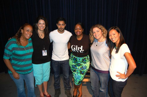 Manish Dayal and the Bloggers #100FootJourneyEVent