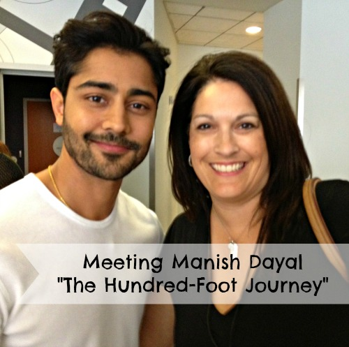 Meeting Manish Dayal The Hundred Foot Journey