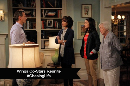 Wings Costars Reunite #ChasingLife