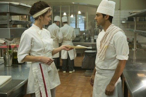kitchen scene the hundred foot journey