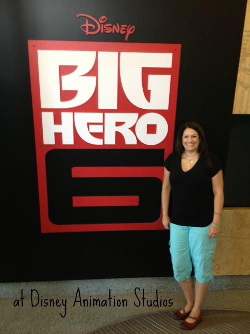 Big Hero 6 Disney Animation Studios Sign