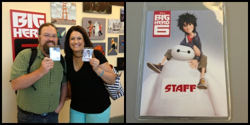 Big Hero 6 Staff