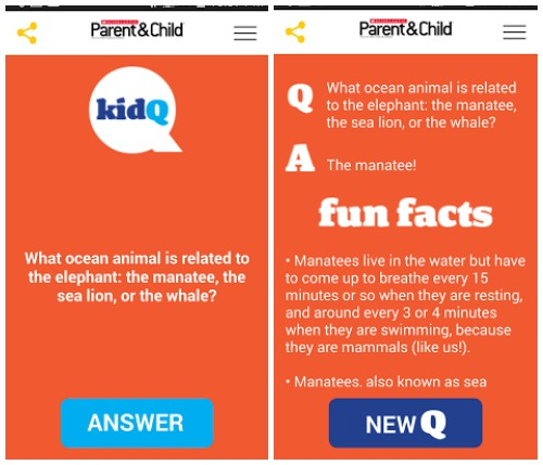 KidQ App Question and Answer