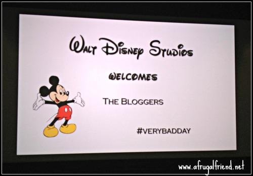 #VeryBadDay Screening
