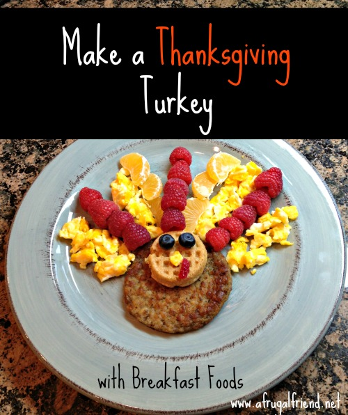 Make a Thanksgiving Turkey with Food 1