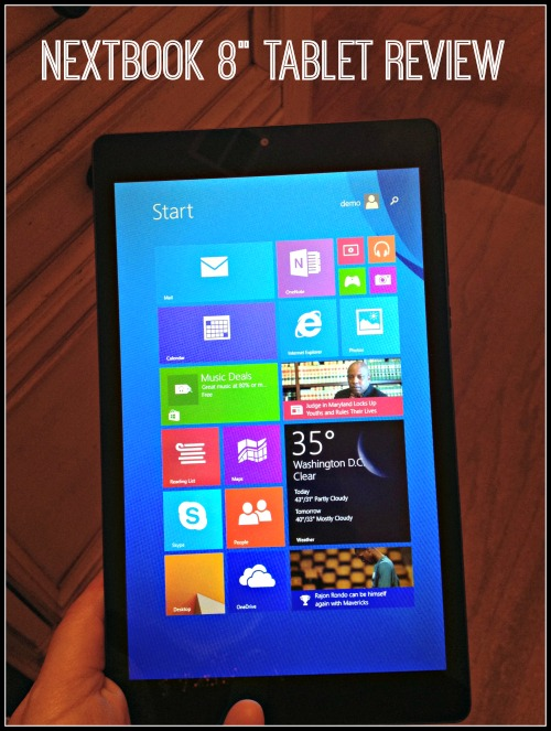 Nextbook 8inch Tablet Review