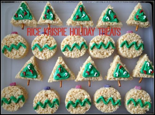 Rice Krispie Holiday Treats