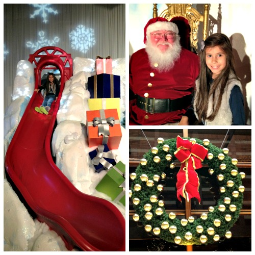 Sparkle Christmas at the Anatole Santa