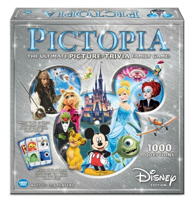 pictopia family trivia game disney edition
