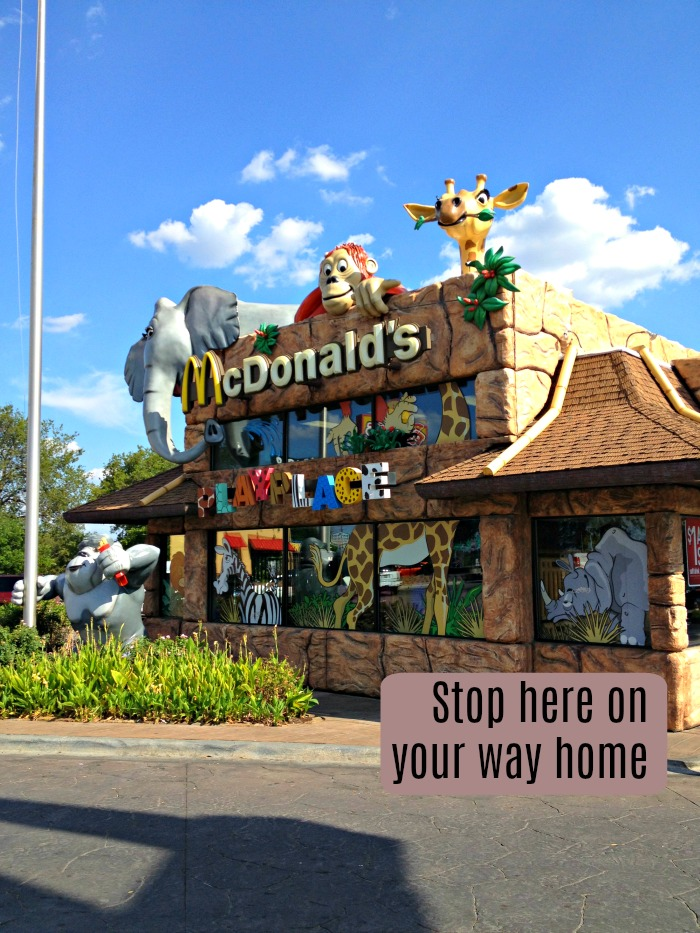 Dallas Zoo Themed McDonald's