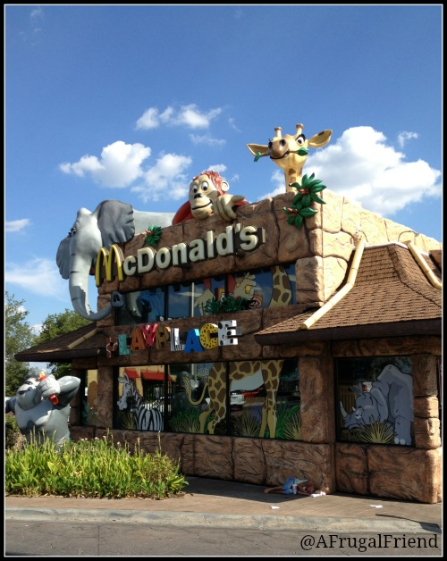 Dallas Zoo Themed McDonalds