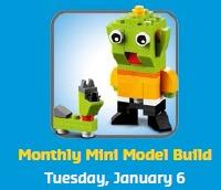 Free LEGO Store Mini Build January 2015