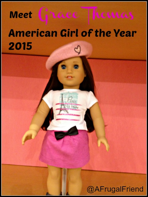 Grace Thomas American Girl of the Year 2015