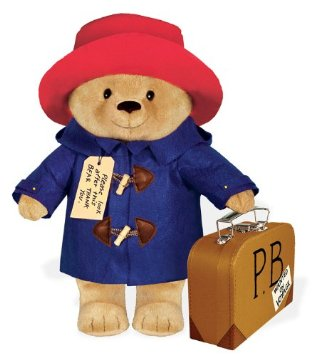 paddington bear stuffed animal
