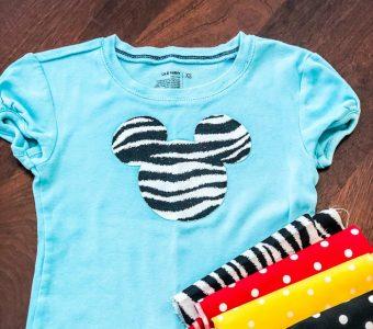 No Sew Mickey Mouse Tshirt