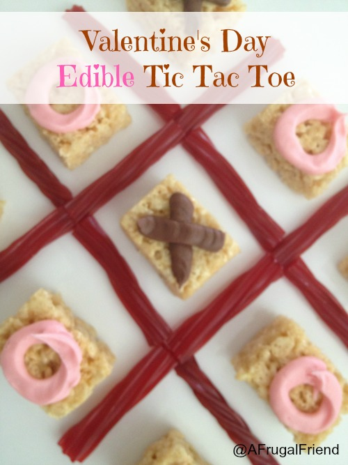 Valentine's day Edible Tic Tac Toe