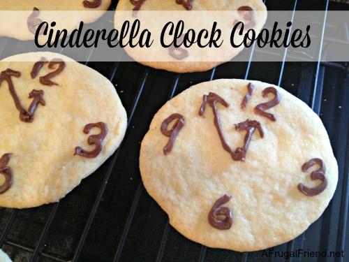 Cinderella Clock Cookies