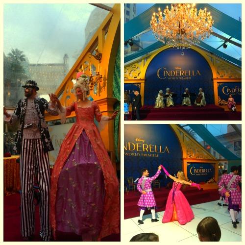 Cinderella Premiere Party Entertainment