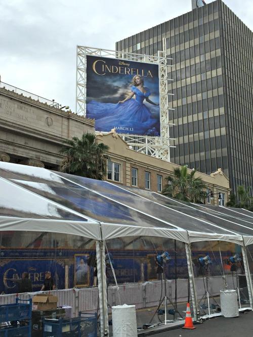 Cinderella Premiere Tents