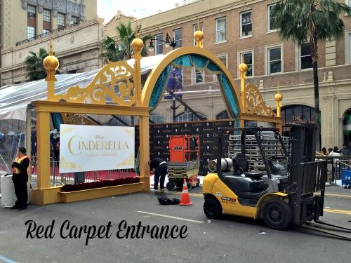 Cinderella Red Carpet Entrance