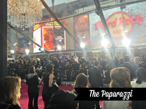 Cinderella Red Carpet Paparazzi