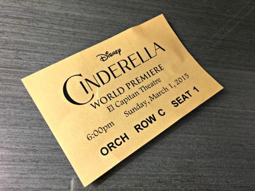 Cinderella World Premiere at El Capitan Theatre
