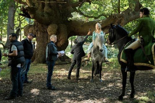 Cinderella behind the scenes