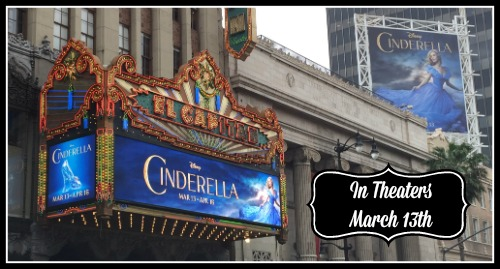 Cinderella in Theaters March 13th