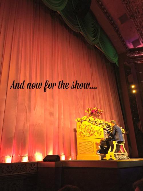 Cinderella premiere curtain