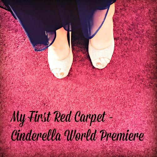 First Red Carpet Cinderella