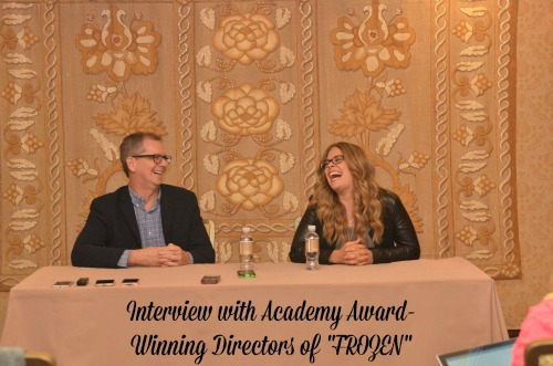 Interview with Frozen Directors Chris Buck and Jennifer Lee