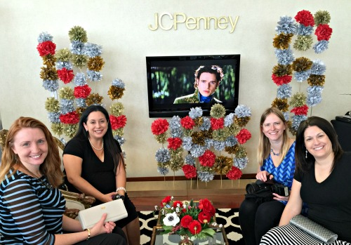 JCpenney Glam Ball Lounge