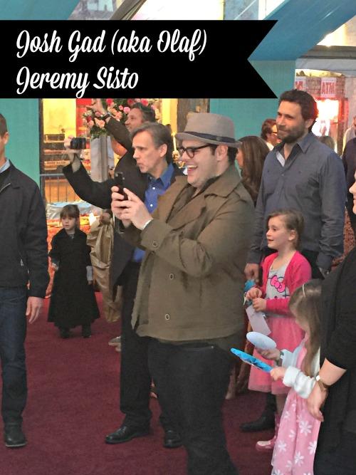 Josh Gad and Jeremy Sisto at Cinderella Premiere