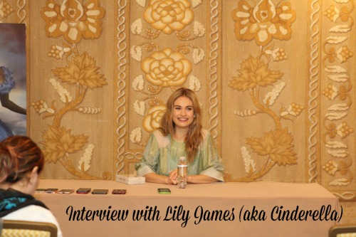 Lily James Interview