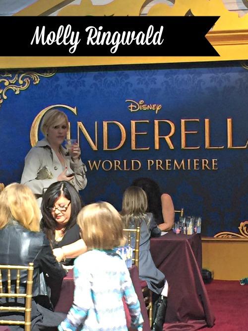 Molly Ringwald at Cinderella Premiere
