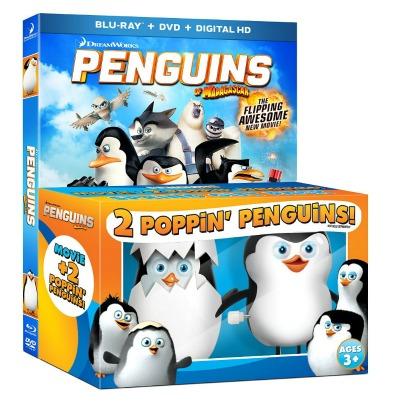 Penguins of Madagascar toys
