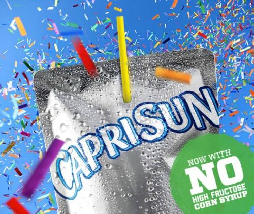 Capri Sun No High Fructose Corn Syrup