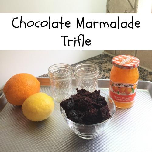 Chocolate Marmalade Trifle