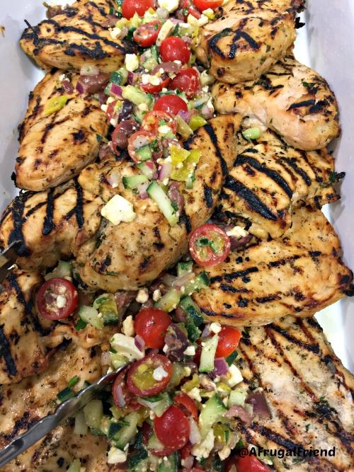 Kraft Grilled Greek Chicken