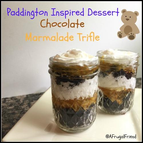 Paddington Dessert