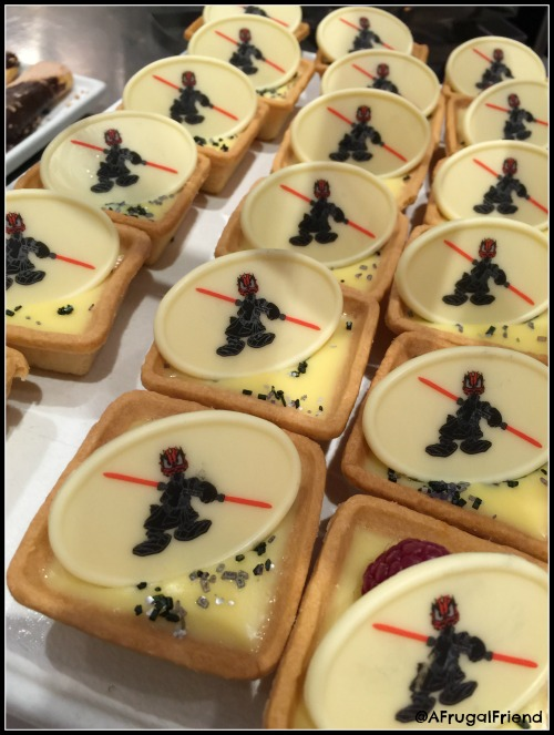 Dark Side Lemon Tarts