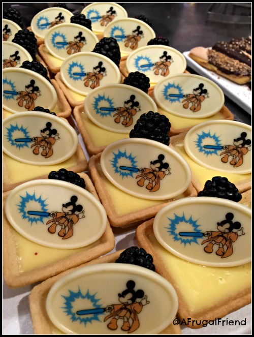 Jedi Mickey Lemon Tarts