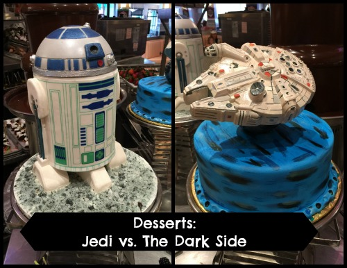 Jedi Mickey Star Wars Desserts Jedi Dark Side