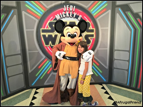 Jedi Mickey's Star Wars Dine Character Dinner