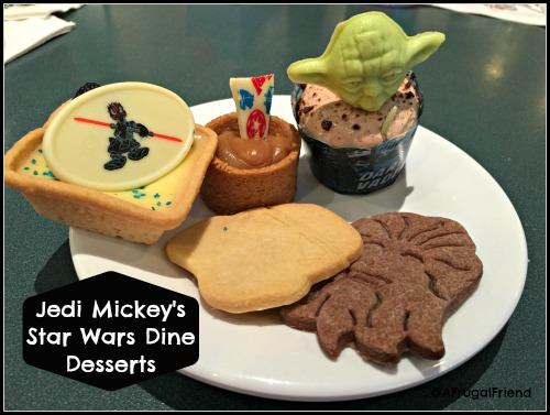 Jedi Mickey's Star Wars Dine Desserts